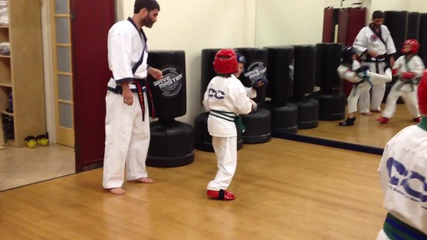 More Sparring