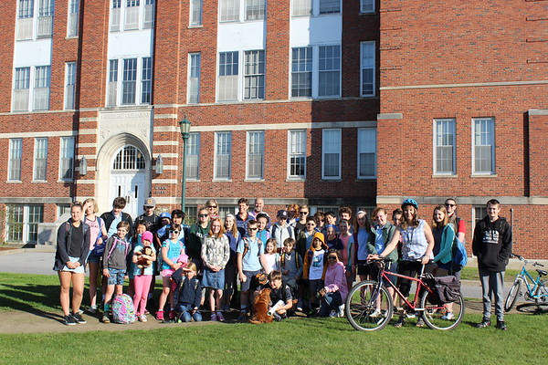Walk & Bike to School Day 2018