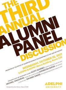 Third Annual Alumni Artists Panel