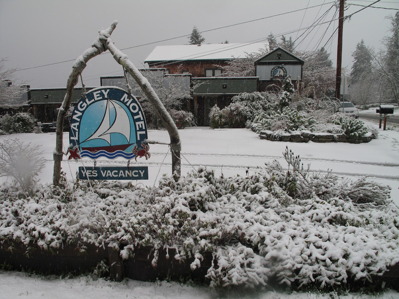 Langley Motel, Whidbey Island. March 22, 2013