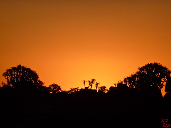 Sunset Giants playground and quiver tree, Namibia photo 3