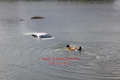 Winthrop, MA - Car in the Water, Main Street, 5-25-10