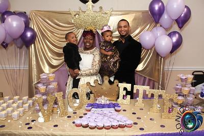 FEBRUARY 13TH, 2016: VIOLETTE'S 1ST BIRTHDAY BASH
