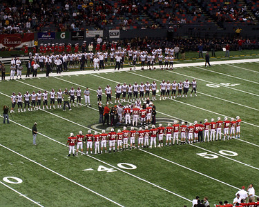 LOUISIANA HIGH SCHOOL FOOTBALL 2009:   LHSAA Class 5A State Championships in the Louisiana Superdome. Arch Bishop Rummel of New Orleans and West Monroe.  West Monroe wins.