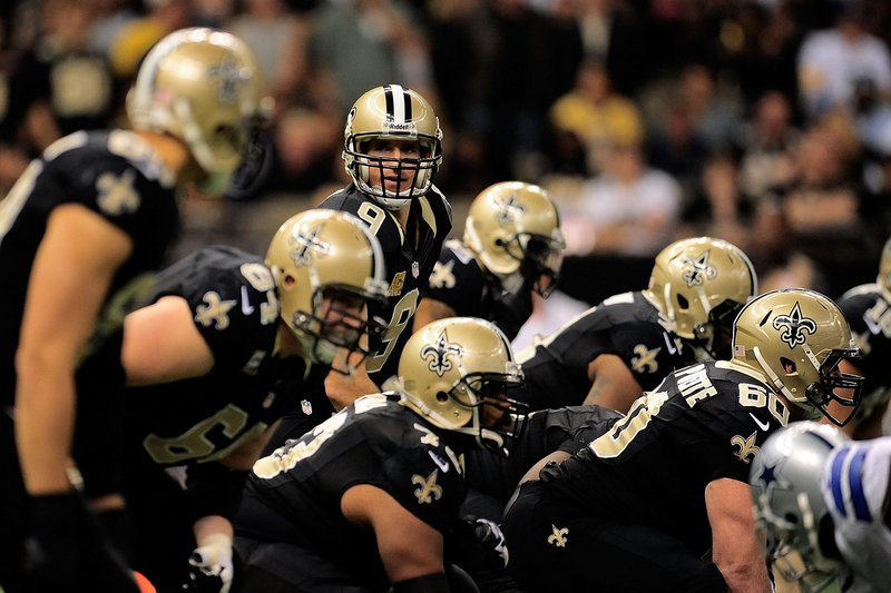 . <p><b>49ers at Saints (-3):</b> It was a record evening on last week�s �Sunday Night Football.� New Orleans set an NFL record with 40 first downs, and the Dallas defense shattered the league mark for most yards after quitting. Pick: <b>Saints by 8</b> <p>    (Stacy Revere/Getty Images)  <p><b>BYES</b><p> <p><b> Cowboys, Rams </b>   <br><p><b>RECORD</b> <p><b>Week 10:</b> Straight up 9-5, vs. spread 9-4-1 <p><b>Total:</b> Straight up 95-52, vs. spread 66-77-4   <br><p> Kevin Cusick talks fantasy football, and whatever else comes up, with Bob Sansevere and �The Superstar� Mike Morris on Thursdays on Sports Radio 105 The Ticket. Follow him at <a href=\'http://twitter.com/theloopnow\'>twitter.com/theloopnow</a>.