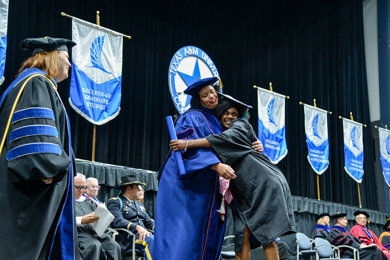 More than 540 students graduated during the Summer 2019 Commencement ceremony held on Saturday, Aug. 10, at the American Bank Center.