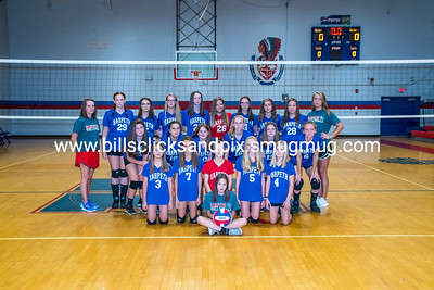 Middle School Volleyball 2019