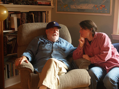 Marcy and Micky - October 2006