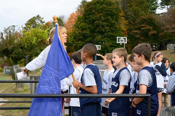Middle School Blue vs White Soccer Game