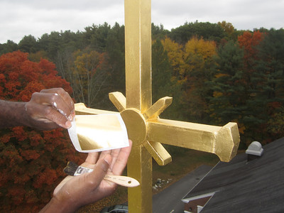 Gilding, Crosses, Clocks & Moldings