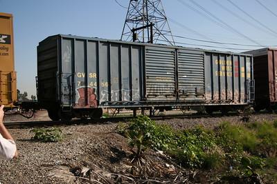 SP, SSW, GVSR Boxcars
