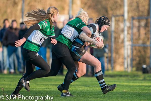 Delft Dames vs SRC Thor - 17 January 2016