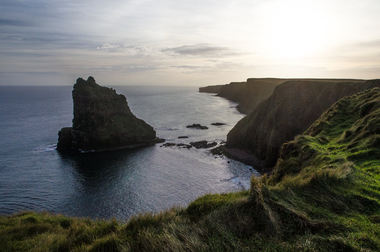NC500 - Caithness - Duncansby Stacks up close