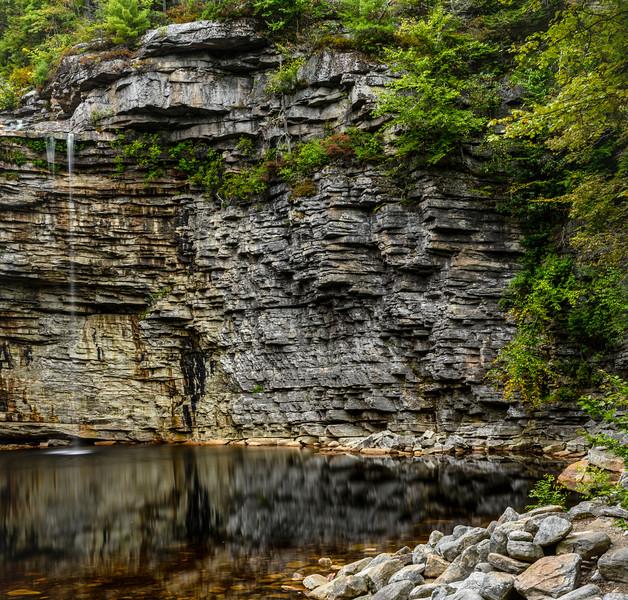 Waterfall & shore, Minnewaska State Park, Hudson Valley, 2019.jpg