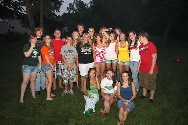 Alyssa party for friends of Wyatt
