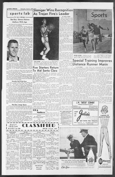 Daily Trojan, Vol. 54, No. 76, March 06, 1963