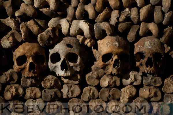 Paris Catacombs, Streets, and Sights (Sep 11)
