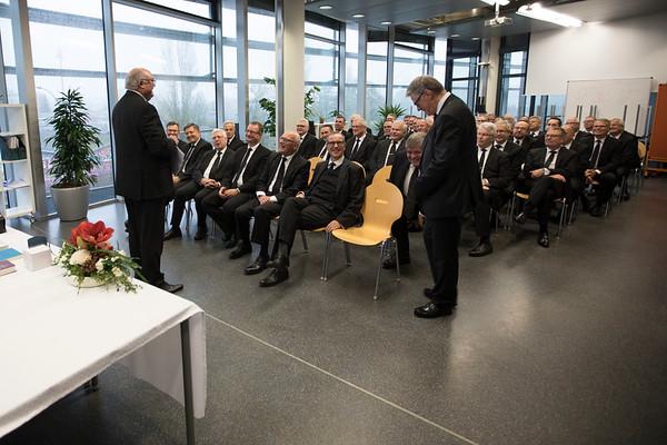 Bezirksapostel Koberstein in Luxemburg 12.11.17