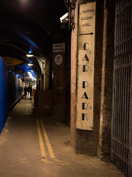 Railway arches under Leeds Railway Station