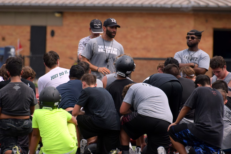 Edsel Ford hit the field on Monday for the first official day of high school football practice in Michigan. The Thunderbirds head into the new season with a new coach at the helm and as members of a new conference. Frank Wladyslawski - Digital First Media