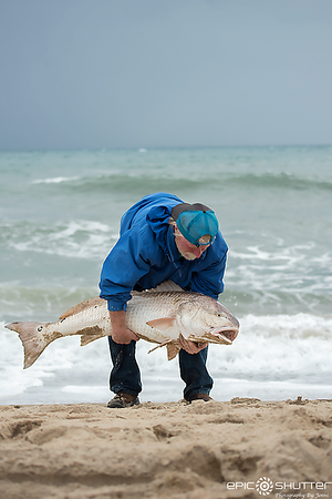 February 28, 2018, Red Drum Fishing, Cape Point, Buxton, Hatteras Island, North Carolina, Epic Shutter Photography, Outer Banks Documentary Photographers