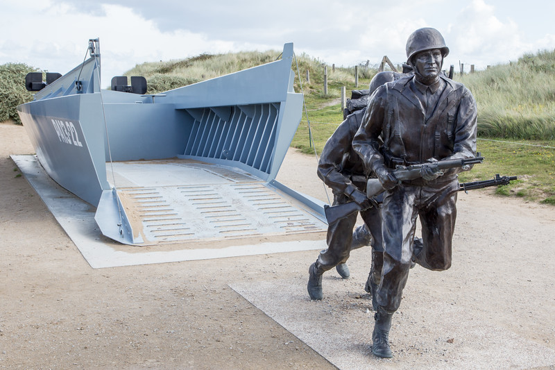 Utah Beach - Higgins Boat Memorial