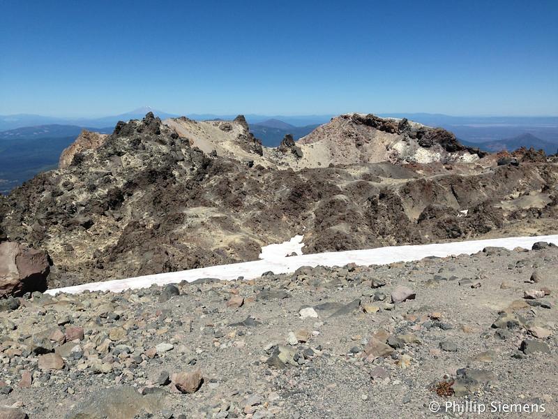 Summit, 100 year-old lava