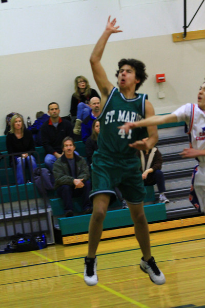 8th grade boy basketball vs cda chater