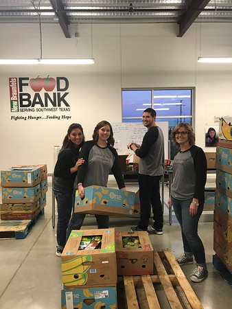 KRE Staff Volunteers at Food Bank