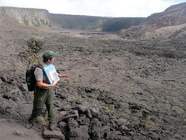 Big Island, Crater Walk