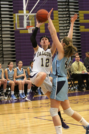 Lady Falcons edged by Freehold Patriots, Saturday, Jan. 7, 2012