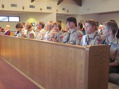 Boy Scout Sunday 2013