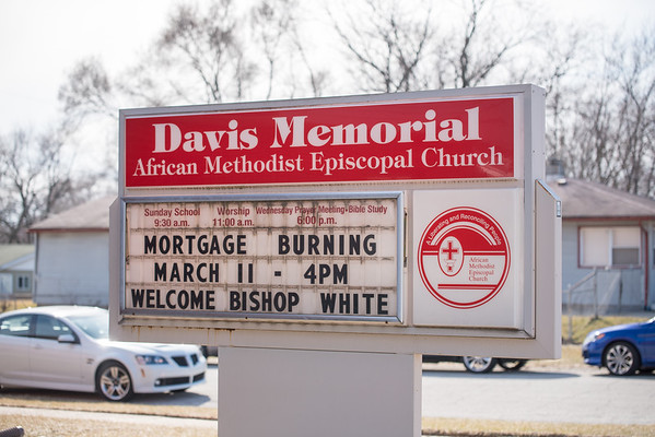 Davis Mortgage Burning
