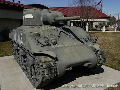 IDANG Armory - Twin Falls, ID - M4A3(75) & M60A3