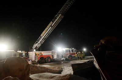 Lakeland Concrete Fire