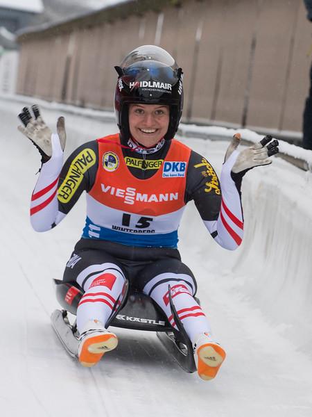 Viessmann Rennrodel Weltcup Winterberg/GER Damen Einzel