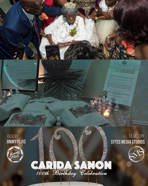 Carida's 100 Birthday