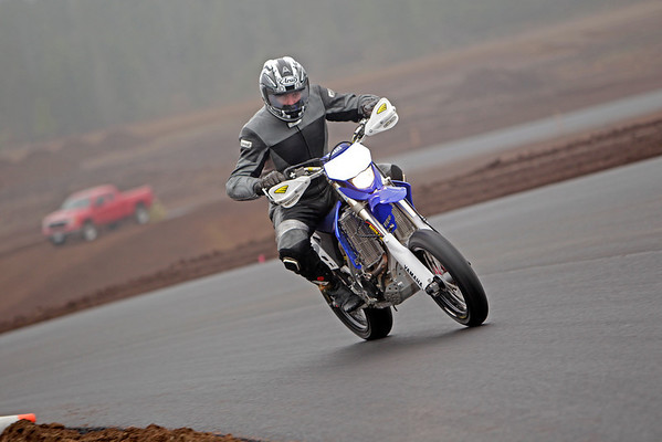 Yamaha - Blue Motard