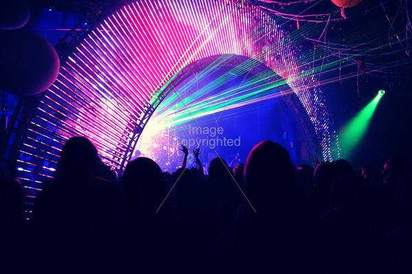 The Flaming Lips, New Years Freakout 5. January 1, 2012. Oklahoma City, Oklahoma