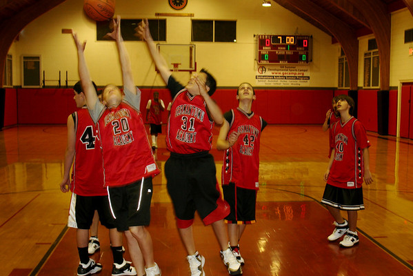 MS Boys Basketball 2007-08