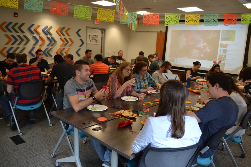 April 2019: Taco & Nacho Bar Spring Lunch Event