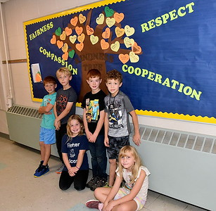 Third Grade Grows A Kindness Tree photos by Gary Baker
