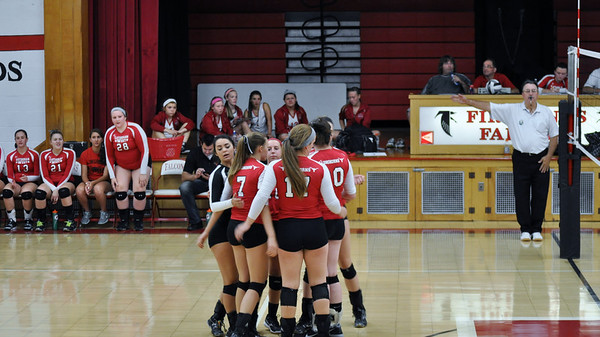 Volleyball vs. Firelands (9/3/13 - Varsity)