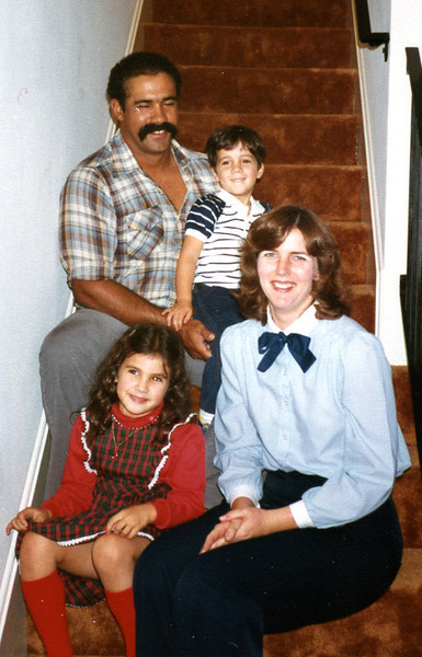 Glenn and Maureen's daughter Margaret and Dorian Hubbard with children Melissa and Derek