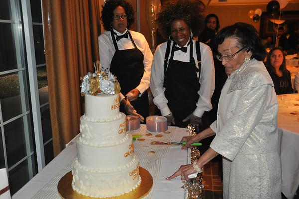 Amelia P Toussand 100th Birthday Celebration  Jan 17, 2015