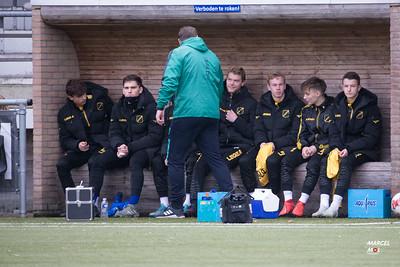 Nac JO19-1 - PSV JO19-1 (7-12-2019) : uitslag 2-0