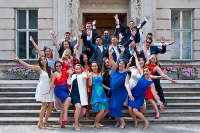 Summer Wedding in Central London