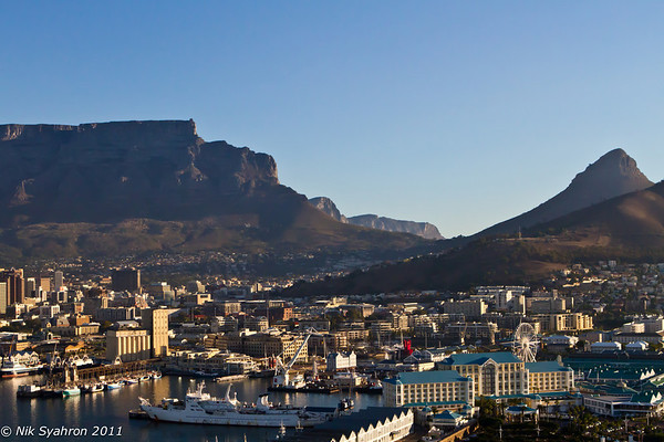 Aerial Shots of Cape Town