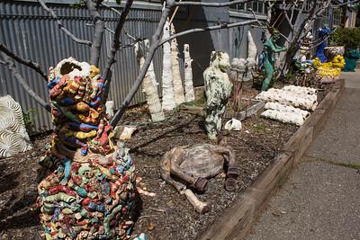 TB9 Backlot sculpture garden