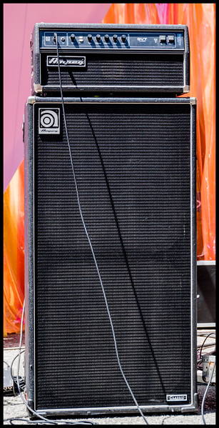15 Backline rig - Ampeg SVT with 8x10 cabinet at Burger Boogaloo by Patric Carver.jpg